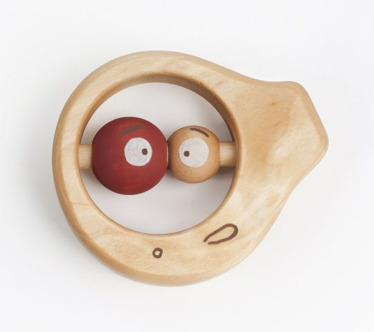 This organic baby rattle is quality crafted by hand and sanded satin smooth.  All materials we use are 100% natural and safe for baby.