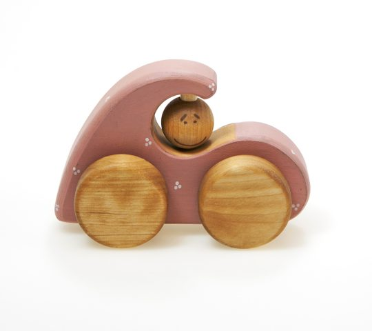 Girly car toy, Wooden car toy is one of our non toxic toys made of natural materials. These are best wooden toys safe and beautiful friends to your child.